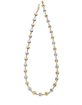 Organic Disc Necklace (GN330)