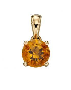 Gold November Birthstone Pendant (GP2198)