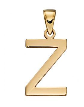Gold Letter 'Z' Pendant (GP2223)