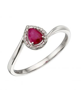 Ruby and Diamond Ring (GR568R)