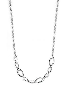 Open Oval Link Necklace