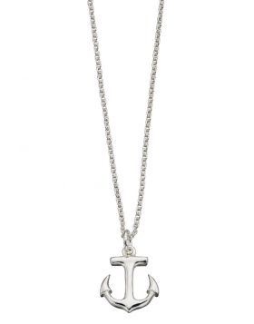 N3859 Anchor 42+2cm NECKLACE
