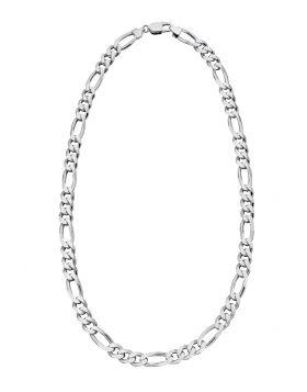 Heavyweight Figaro necklace 51cm