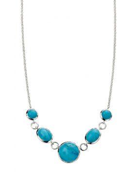 Magnesite Statement Necklace (45cm)