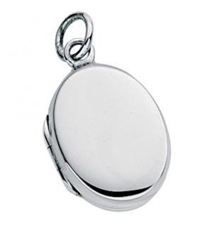 P2703 Small Plain Oval Locket PENDNT