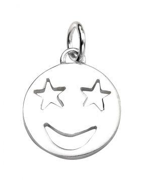 P4454 Star Eyes Emoji PENDANT