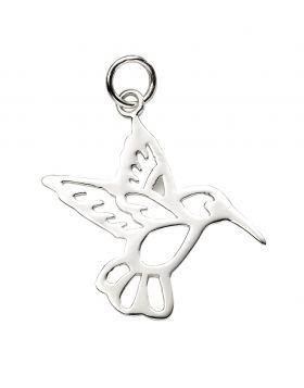 Cut Out Hummingbird Pendant