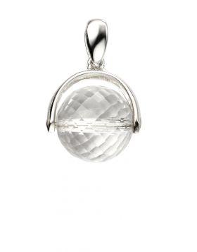 Crystal Spinning Ball Pendant
