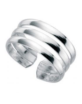R2596 Three Band TOE RING