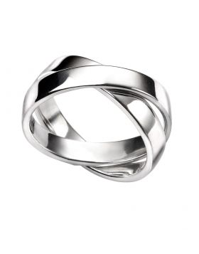 R3475 Double Linked Band RING