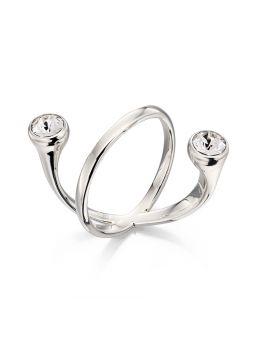 Floating Swarovski Crystal Ring
