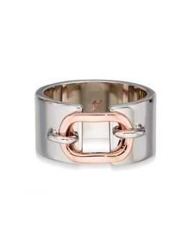 Rose Gold Loop Detail Ring