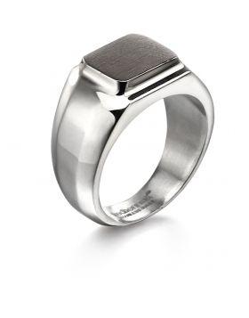 Brushed Square Ring