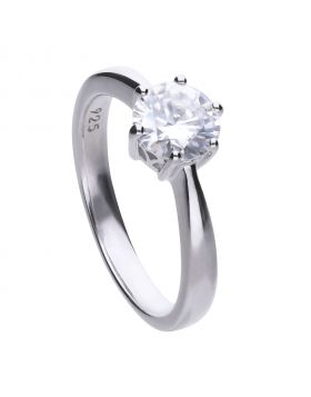 Solitaire 1.5ct Claw Set Ring