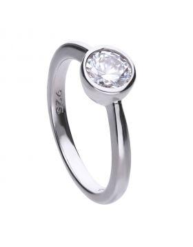 Solitaire Bezel Set 1ct Ring