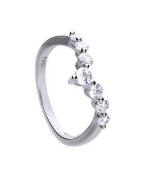 Pave Wishbone Ring