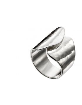 Twisted Statement Texture Ring