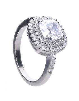 Double Halo Zirconia Ring (R3715)