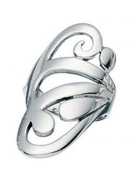 R653    Ring Large Scroll
