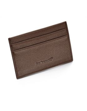 Brown Leather Cardholder
