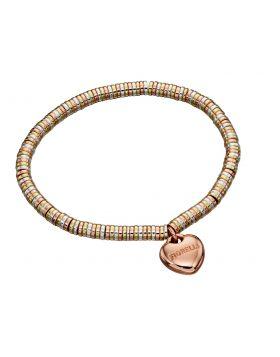 Mix Metal Roundel Stretch Bracelet