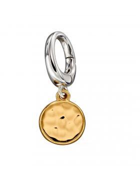 Gold Disc Charm (Y2633)