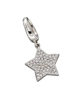 Large Pave Star Charm (Y2638C)