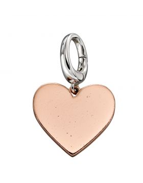 Rose Gold Heart Charm (Y2642)