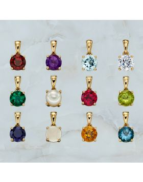 Gold Birthstone Pendant CZ Kit (GZ1322)