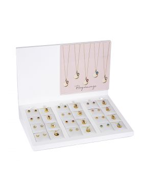 Gold Plated Crystal Birthstone Pack (Z1493)