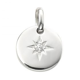 Star Disc Pendant (P4887C)