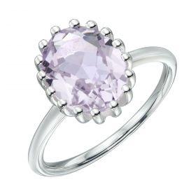 Pink Amethyst Ring (R3757P)