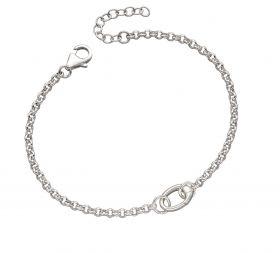 Single Link Charm Bracelet (B5219)