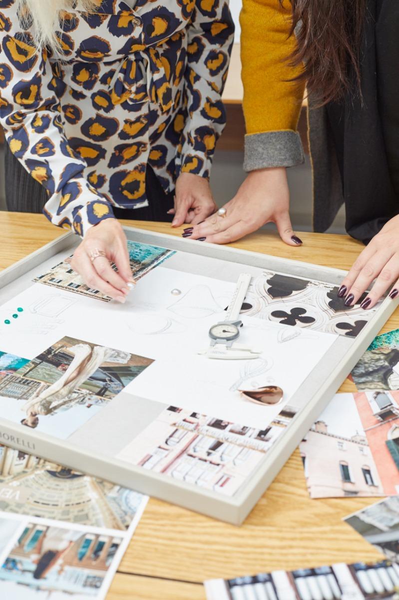 The Gecko Jewellery design team at work